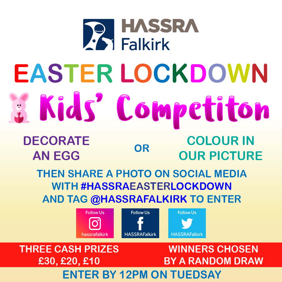 20200309 HASSRA Falkirk Easter Lockdown